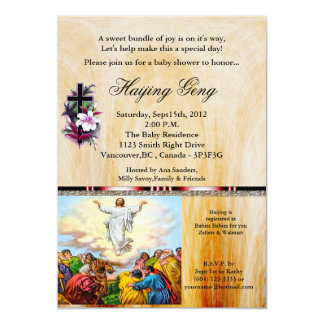 Christain Baby Shower Invitation 24