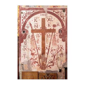 Christain Cross Artwork Acrylic Wall Art