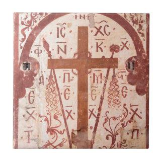 Christain Cross Artwork Tile