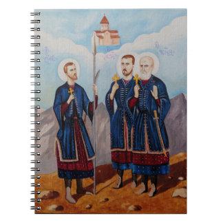 Christan Relious Artwork Notebook