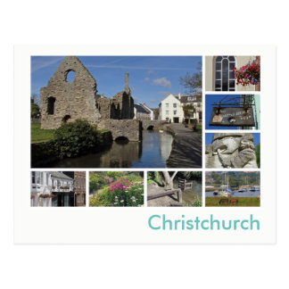 Christchurch multi-image postcard
