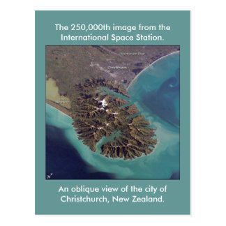Christchurch, New Zealand Postcard