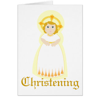Christening-Customize Card