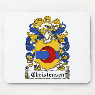Christensen Family Crest Mouse Pad