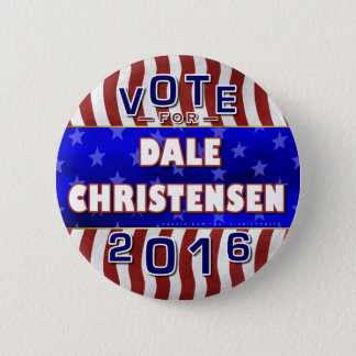 Christensen for President 2016 Election Republican 2 Inch Round Button