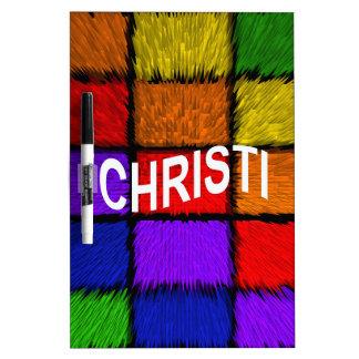 CHRISTI Dry-Erase BOARD