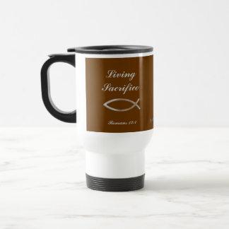 Christian 15 Oz Stainless Steel Travel Mug