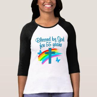 CHRISTIAN 55TH BIRTHDAY T SHIRTS