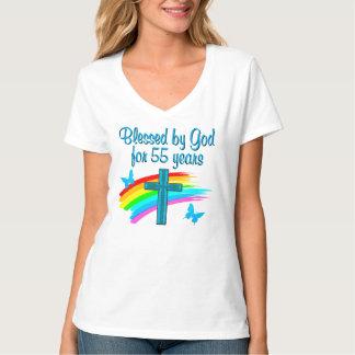 CHRISTIAN 55TH BIRTHDAY T-SHIRTS