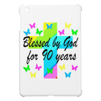 CHRISTIAN 90TH BIRTHDAY PRAYER DESIGN iPad MINI CASE