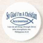 Christian Accountant Coaster