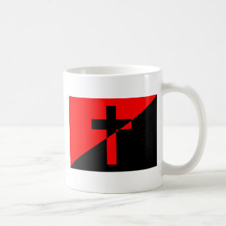 Christian Anarchist Anarchy Christianity Flag Coffee Mug