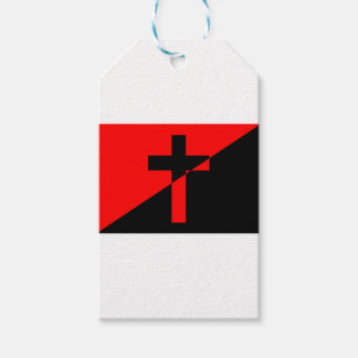 Christian Anarchist Anarchy Christianity Flag Gift Tags