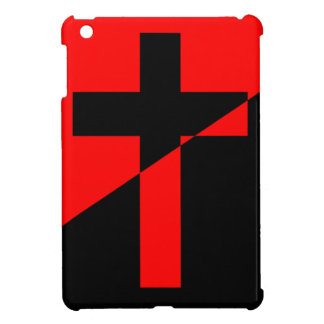 Christian Anarchist Anarchy Christianity Flag iPad Mini Cover