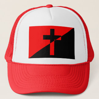 Christian Anarchist Anarchy Christianity Flag Trucker Hat