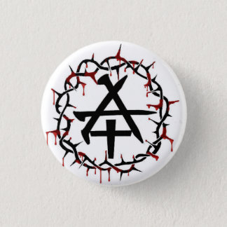 Christian Anarchy 1 Inch Round Button
