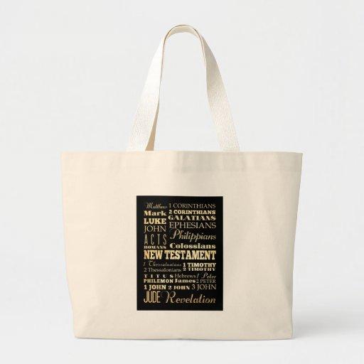 Christian Art - Books of the New Testament. Bag