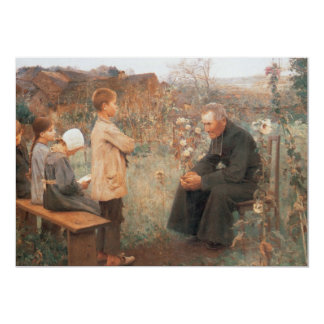 Christian Art The Catechism Lesson Card