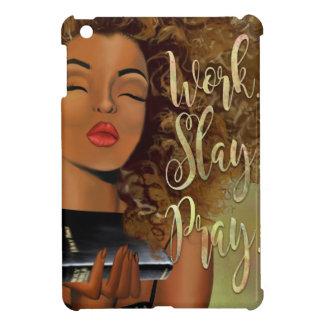 Christian Art Work Slay Pray iPad case