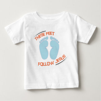 Christian baby t-shirt: Follow Jesus Baby T-Shirt