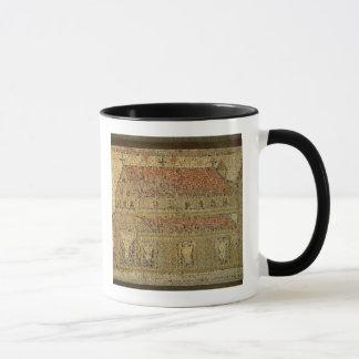 Christian basilica, mosaic pavement, Roman period, Mug