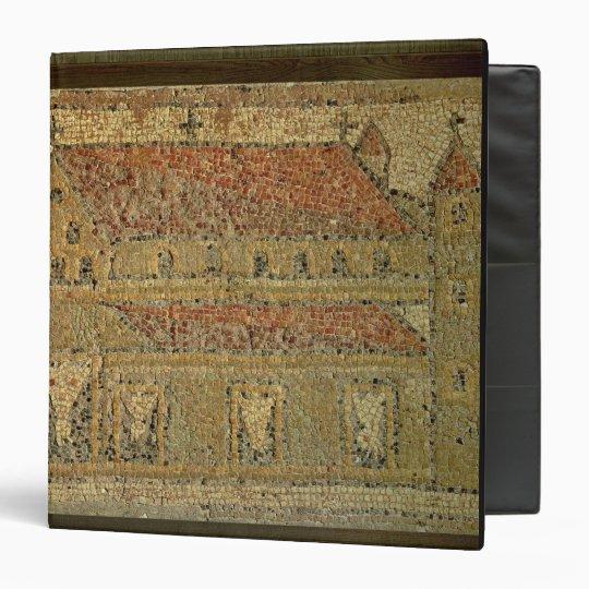 Christian basilica, mosaic pavement, Roman period, Vinyl Binder