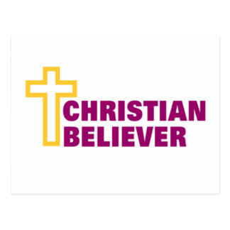 Christian Believer religious gift Postcard