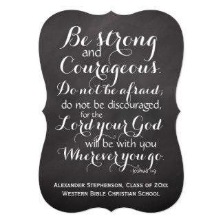 Christian Bible Scripture Verse Custom Graduation Card