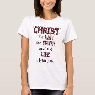 Christian Bible Scripture Verse John 3:16 T-Shirt
