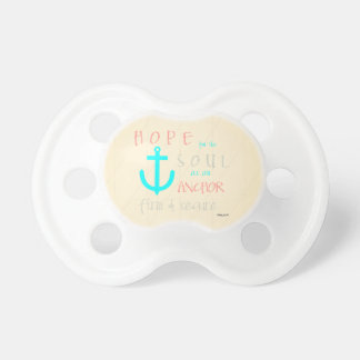 Christian Bible Verse Hope for the Soul Pacifier