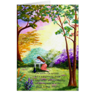 Christian Bible Verse Scripture Creationarts Card