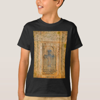 Christian Biblical Quote Renaissance Cross T-Shirt