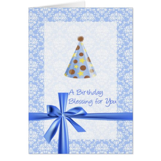 Christian Birthday Greeting Card