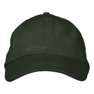 CHRISTian-blk hat