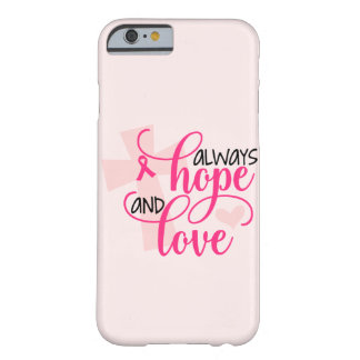 Christian Breast Cancer Awareness Barely There iPhone 6 Case