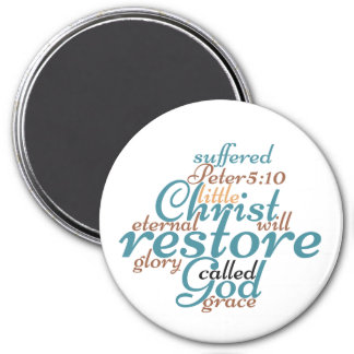 Christian CHRIST WILL RESTORE YOU Magnet