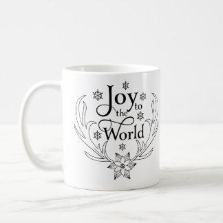 Christian Christmas Joy to the World Coffee Mug