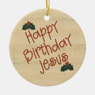 Christian Christmas Ornament
