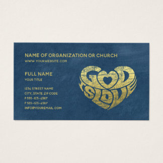 Christian Church Pastor | Religious Ministry Business Card