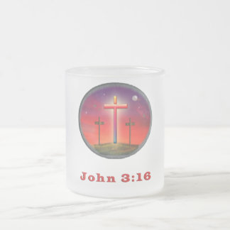 Christian coffee mugs drinkware frosted glass mug