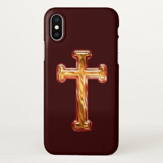 Christian Cross iPhone X Case