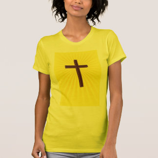 Christian Cross ladies shirt