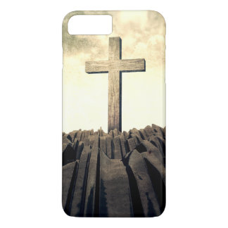 Christian Cross On Mountain iPhone 8 Plus/7 Plus Case