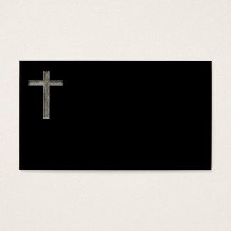 Christian Cross Pastor Minisiter Business Cards