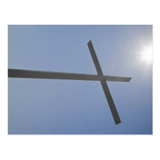 Christian Cross Postcard