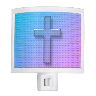 """ Christian Cross""- Sunset Nite Lights"
