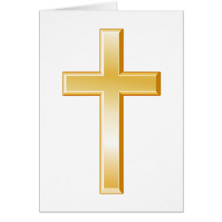 Christian Cross Symbol Card