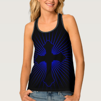 Christian Cross Tank Top