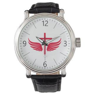 Christian cross watch