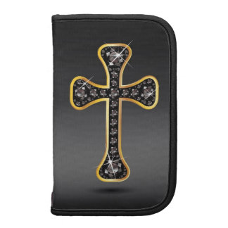 Christian Cross with Onyx Stones Planner